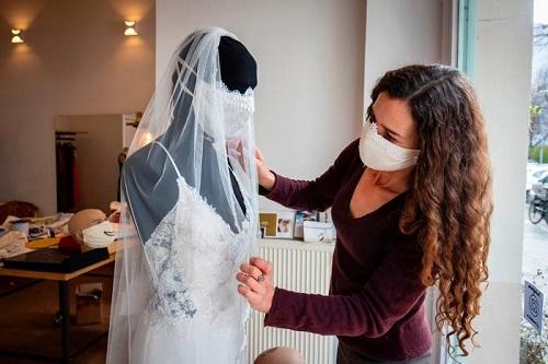 قناع وجه الزفاف
