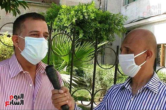 أطباء مستشفيات العزل بمحافظة كفر الشيخ (3)