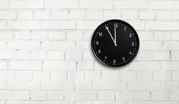 تحديد وقت العمل