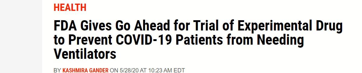 FDA وأدوية تمنع دخول العناية ط
