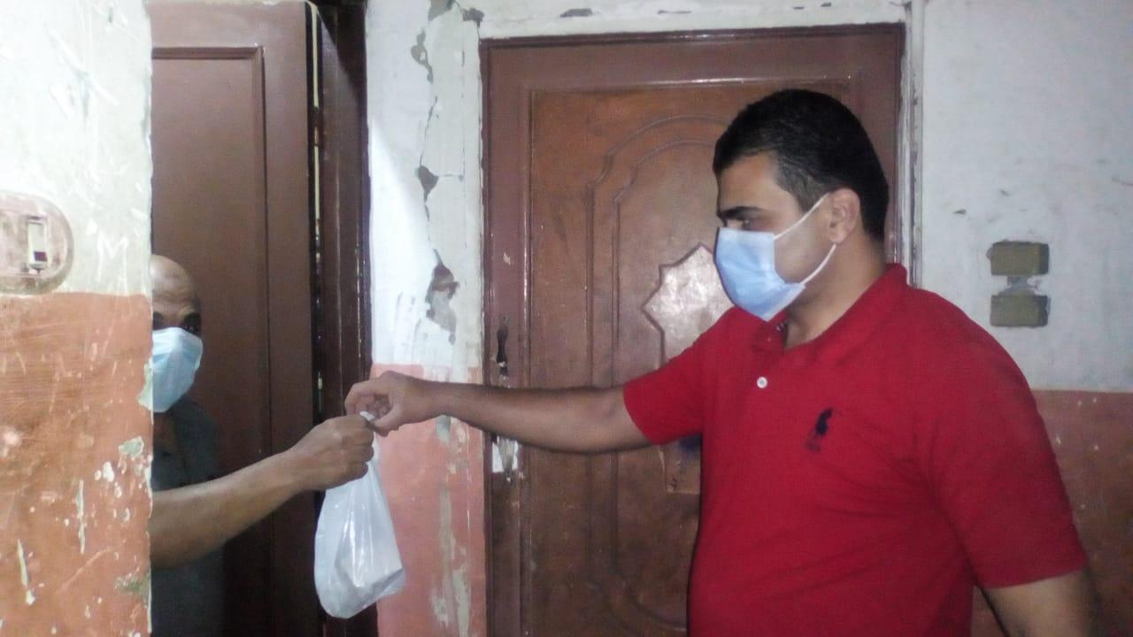 توصيل الأدوية لعلاج مصابى كورونا في المنازل (4)