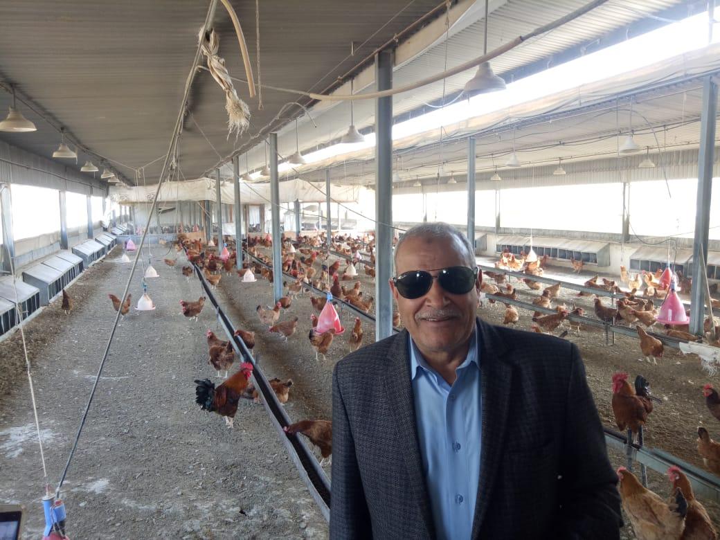 الدكتور عبد العزيز السيد رئيس شعبة الثروة الداجنة