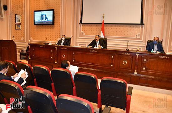 أجتماع لجنة النقل والمواصلات (3)