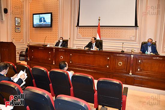 أجتماع لجنة النقل والمواصلات (2)