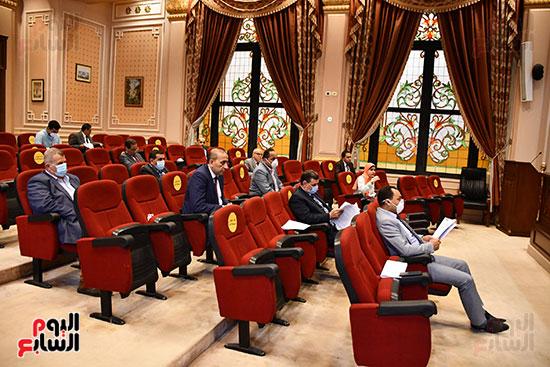أجتماع لجنة النقل والمواصلات (1)