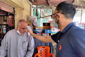 عزل الحالات المخالطة لمدير عزل أبو قير السابق بكفر الشيخ (7)