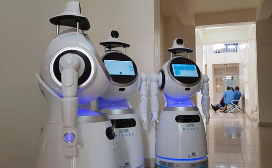 روبوتات فى روندا
