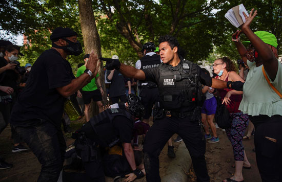 الأمن يحذر المحتجين