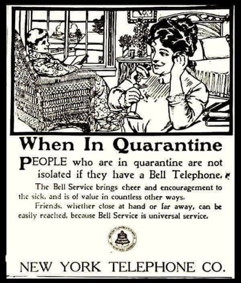 إعلان عن التليفونات فى الحظر