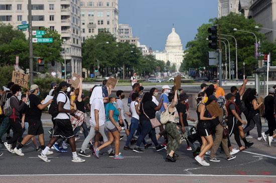مسيرة متجهة للبيت الأبيض