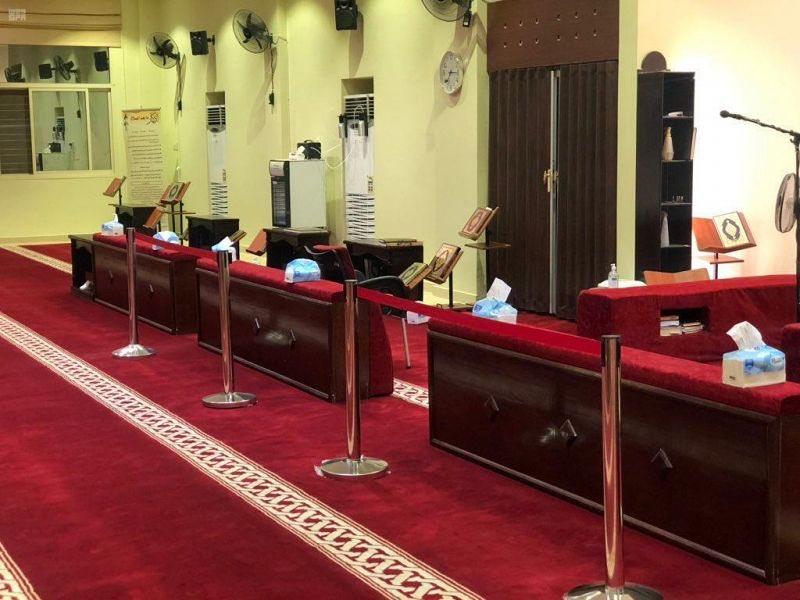 استعدادات مساجد المملكة لاستقبال المصلين