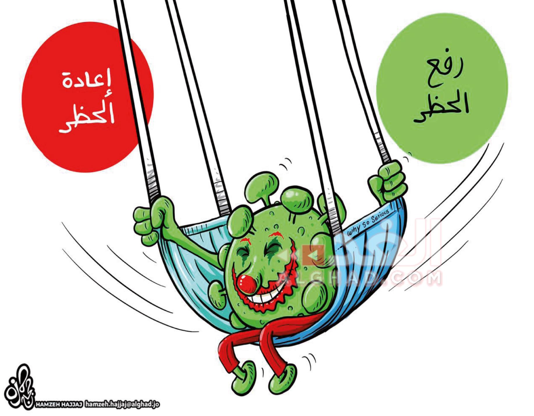كاريكاتير الغد الاردنية
