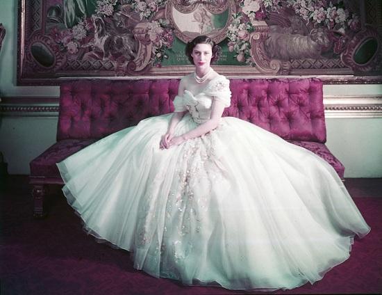 الأميرة مارغريت في فستان ديور الذي لا ينسى