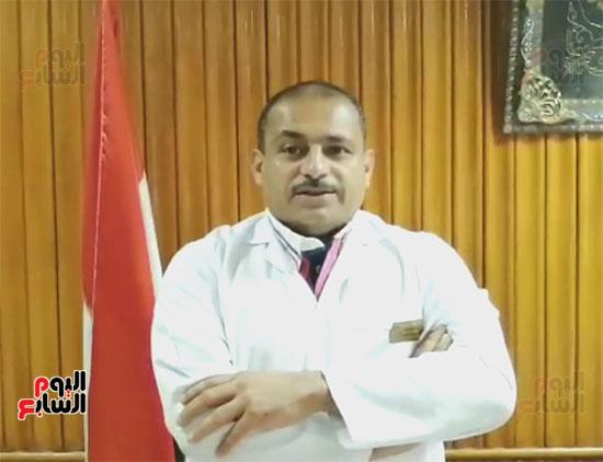 الدكتور ياسر زايد مدير مستشفى كفر الدوار