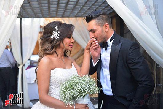 محمد رمضان يحتفل بحفل زفاف شقيقته (6)