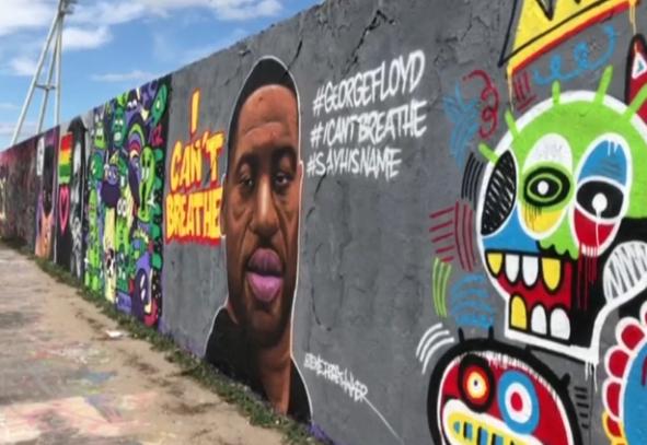 جدارية جورج فلوريدي