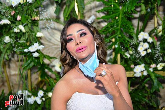 محمد رمضان يحتفل بحفل زفاف شقيقته (25)