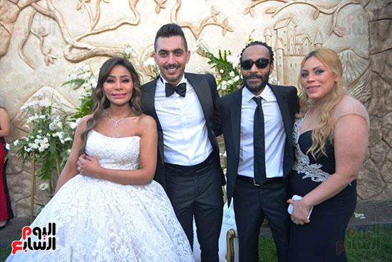 محمد رمضان يحتفل بحفل زفاف شقيقته (33)