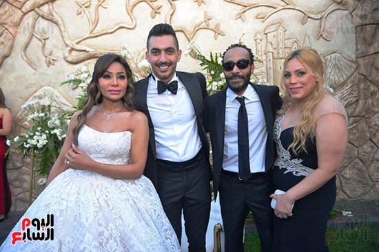 محمد رمضان يحتفل بحفل زفاف شقيقته (15)
