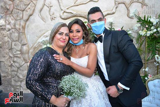 محمد رمضان يحتفل بحفل زفاف شقيقته (29)