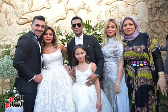 محمد رمضان يحتفل بحفل زفاف شقيقته (4)