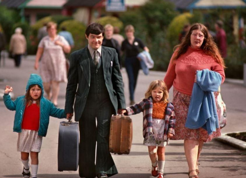 وصول عائلة إلى منتج بلتينك عام 1982