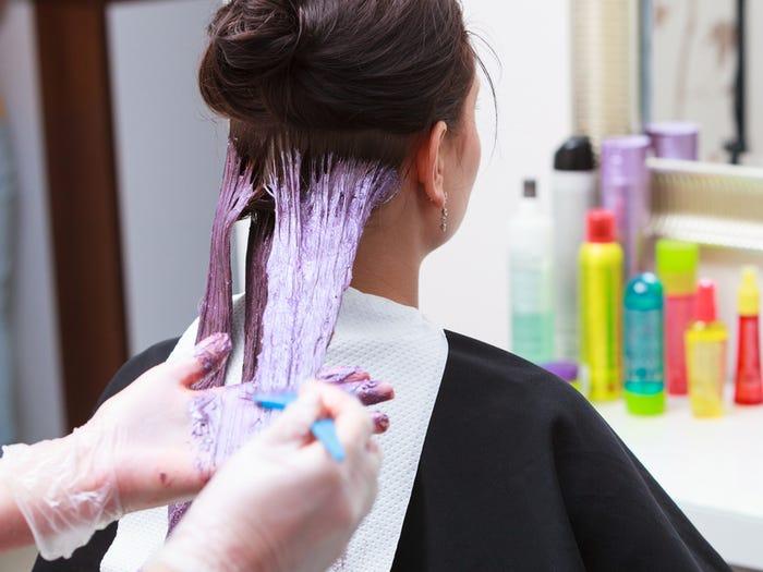 نصائح لصبغة الشعر