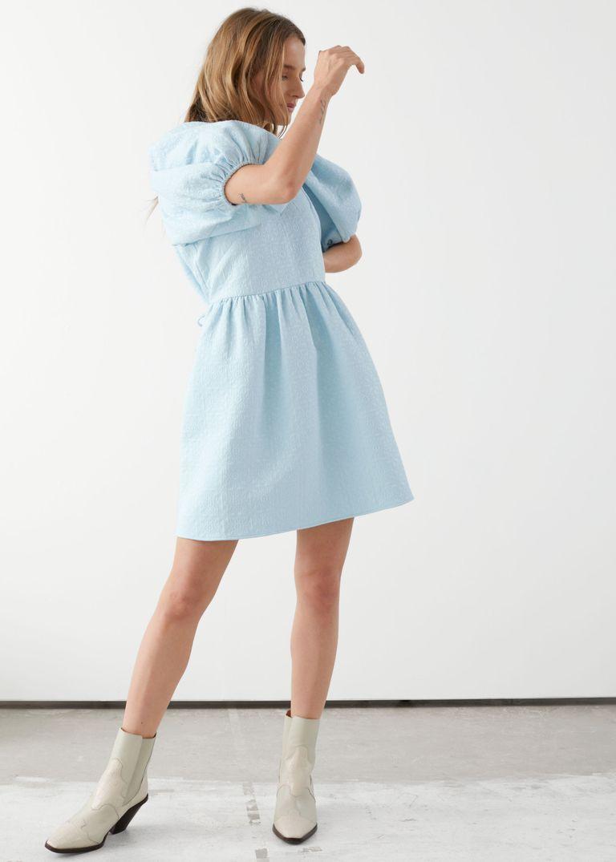 فستان جاكار ميني