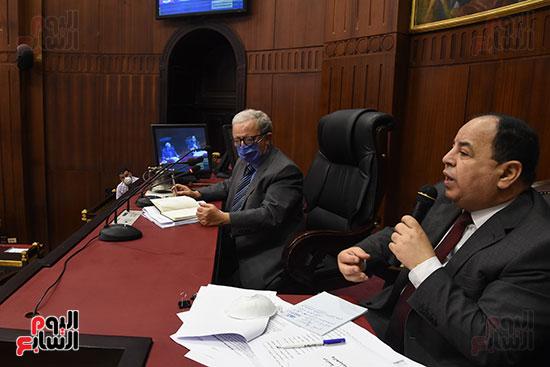 اجتماع لجنة الخطة والموازنة بمجلس النواب (13)