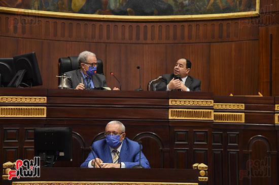 اجتماع لجنة الخطة والموازنة بمجلس النواب (15)