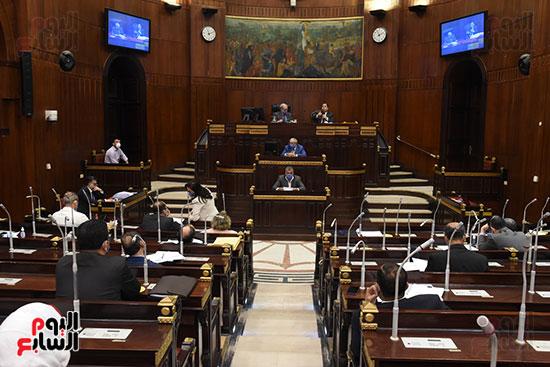 اجتماع لجنة الخطة والموازنة بمجلس النواب (14)
