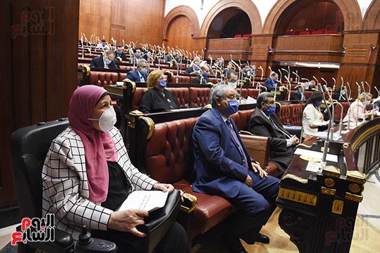 اجتماع لجنة الخطة والموازنة بمجلس النواب (10)