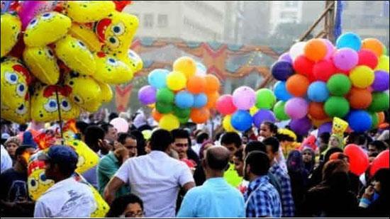 تجمعات المواطنينفى العيد