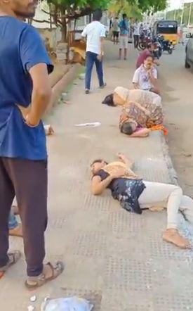 ضحايا تسرب الغاز فى الهند