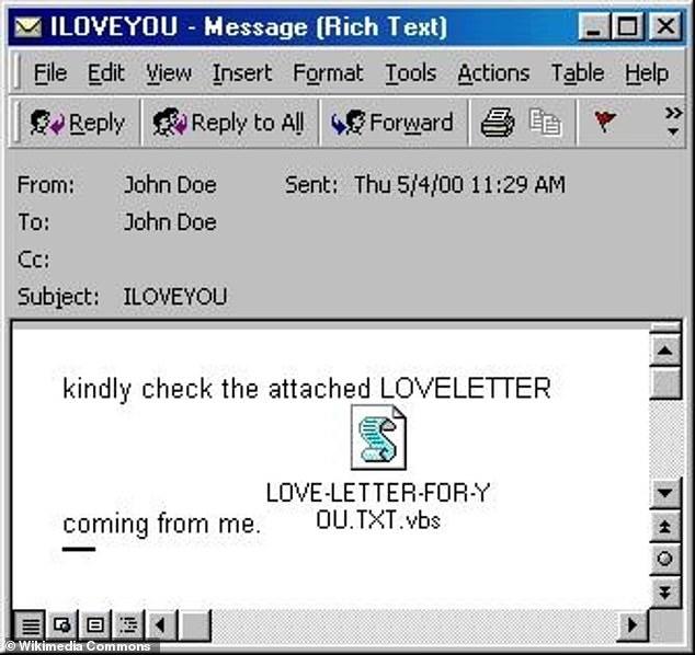 اول فيروس كمبيوتر