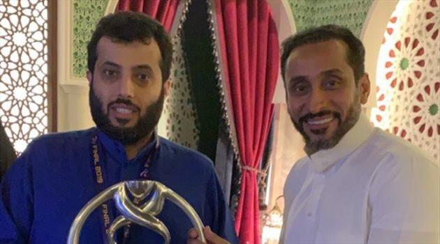 تركي آل الشيخ مع سامي الجابر