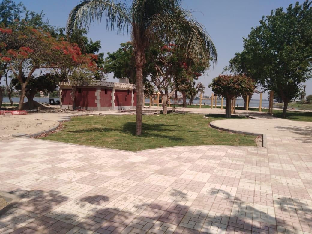 الحدائق بعد التطوير