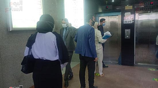 تشديدات وقائية داخل محكمة الإسكندرية  (4)