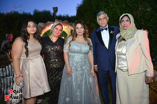 أسرة العريس حسام حامد