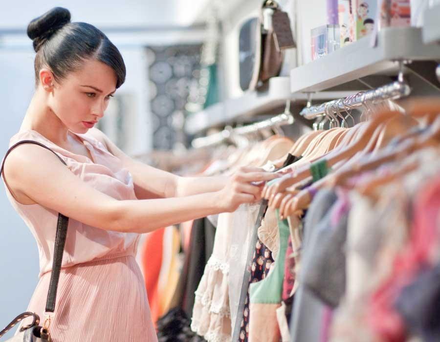 شراء الملابس