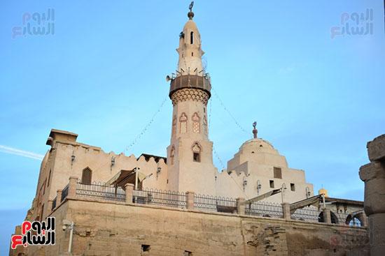 اليوم السابع فى قلب طريق الكباش المشروع الآثرى (22)