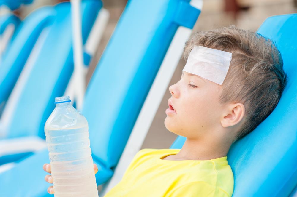 اعراض ضربة الشمس عند الاطفال 23