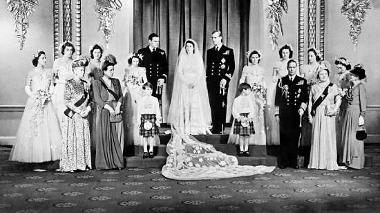 زواج الملكة إليزابيث