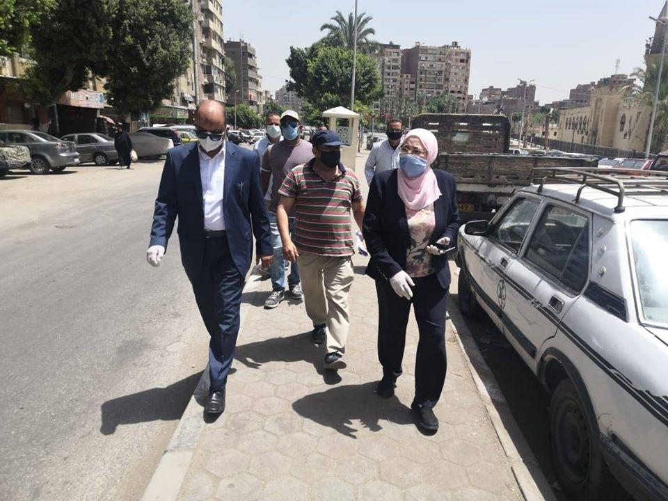 نائب محافظ القاهرة تتفقد أعمال تطوير مسار العائلة المقدسة (2)
