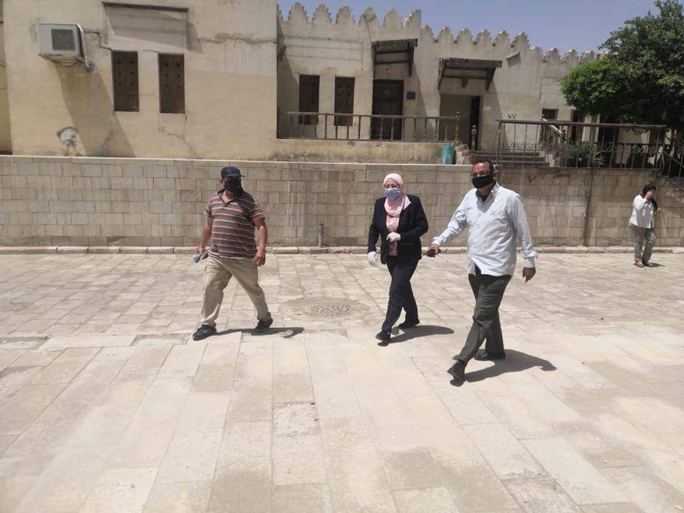 نائب محافظ القاهرة تتفقد أعمال تطوير مسار العائلة المقدسة (4)