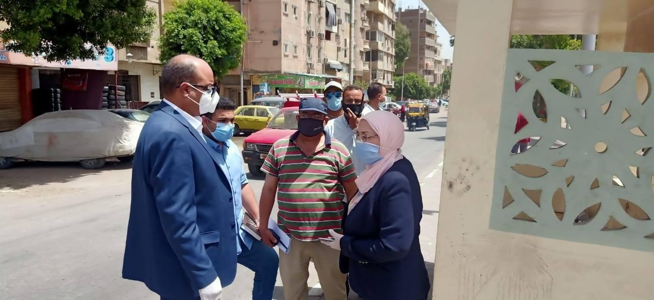 نائب محافظ القاهرة تتفقد أعمال تطوير مسار العائلة المقدسة (3)