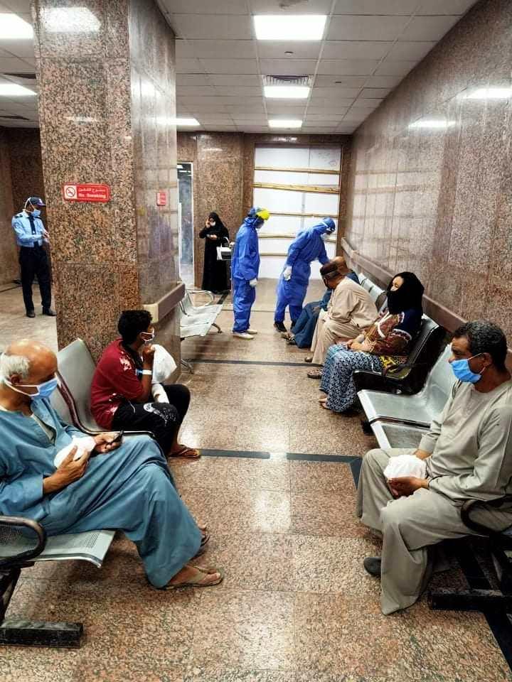 شفاء المصابين بمستشفى الاقصر العام