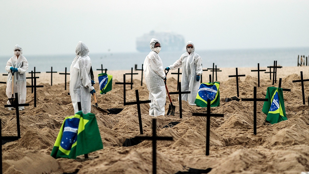 مقابر على شاطئ بريو دى جانيرو