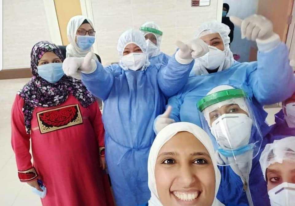 الفريق الطبى بمستشفى الاقصر العام