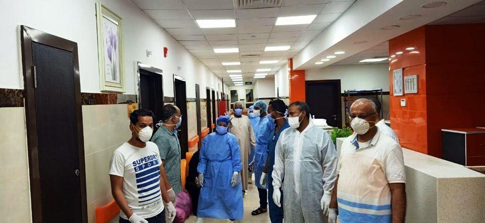 شفاء 41 حالة بعد خروجهم من العناية المركزة